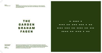 """Graham Fagen, 'The Garden/ Radio Relay.  7"""" Vinyl and Book', 2016"""
