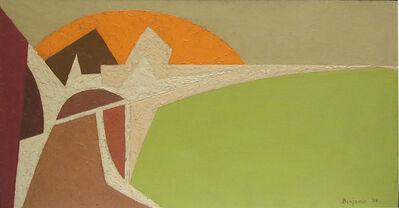 Karl Benjamin, 'Landscape', 1954
