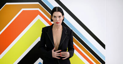 Sarah Morris, 'Portrait Sarah Morris'