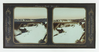 Frederick and William Langenheim, 'Winter, Niagara Falls, Table Rock, Canada Side', 1855