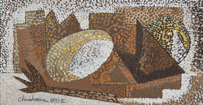 Serge Charchoune, 'Nature morte pointilliste', 1943