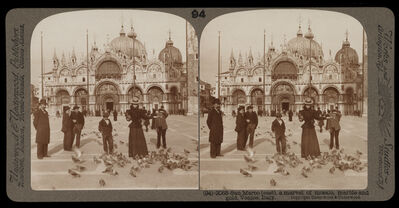 Bert Underwood, 'San Marco (east), a marvel of mosaic, marble and gold, Venice', 1900