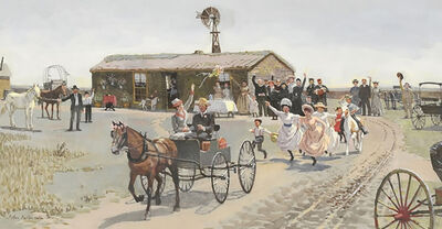 John Philip Falter, 'Horse and Buggy'