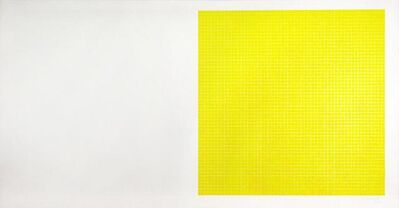 Sol LeWitt, 'Untitled No.6 (Yellow)', 1979