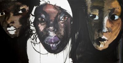 Rainer Fetting, 'Die neuen Frauen', 2015
