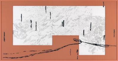 "Michael Müller, 'राणा सातत्य के महासागर, Raga Ocean of Continuum, last summer days, from the series of ""Colour of Mind""/ Raga-Drawings', 2017"