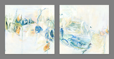 Amy Cannady, 'Thoughts of Aspen as Spring Thaws (Diptych)', 2018