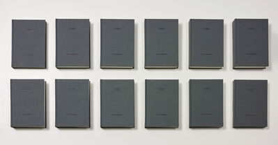 On Kawara, 'I MET', 1968-1979/2004