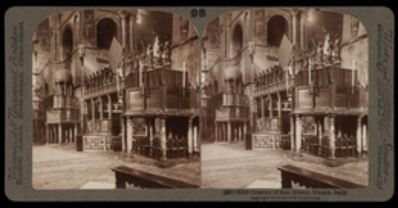 Bert Underwood, 'Interior of San Marco, Venice', 1900