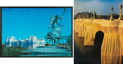 Christo and Jeanne-Claude, 'Wrapped Reichstag, The Pont  Neuf Wrapped, Paris 1975-1985, Wrapped  Reichstag, Berlin, 1971-95'