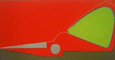 Mao Xuhui 毛旭辉, 'Red Half Scissors, Upright', 2008