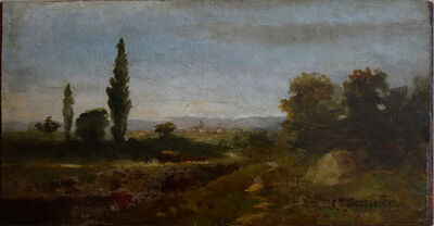 Edward Bannister, 'The Hay Wagon'
