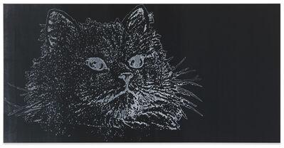 Michel Majerus, 'Katze', 1992