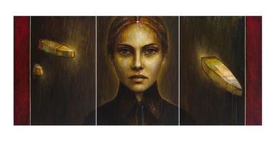 André Pitre, 'Isolde (triptyche)', 2018