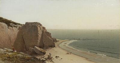 Alfred Thompson Bricher, 'A Quiet Day near Manchester', 1873