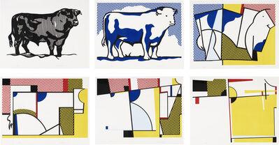 Roy Lichtenstein, 'Bull Profile suite', 1973