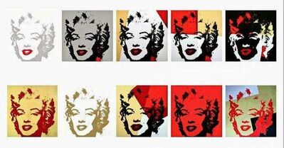 Andy Warhol, 'Golden Marilyn Portfolio', 1967