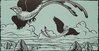 David Everett, 'Scissortails', 1991