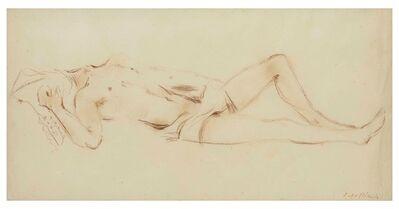 Filippo De Pisis, 'Nudo disteso, anni '30', 1930 ca