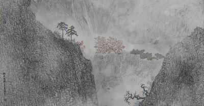 Guan Zhi, 'Peach Shangri-la Blooming', 2019