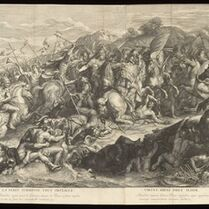 Charles Le Brun, '[Crossing of the Granicus]', 1672