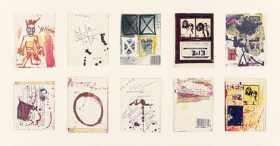 Jean-Michel Basquiat, '(Anti) Product Postcards (set of 10)', ca. 1980
