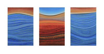 Peter Usher, 'Ningaloo Series - Triptych', 2019
