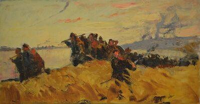 Aleksey Ivanovich Borodin, 'Battle', 1970