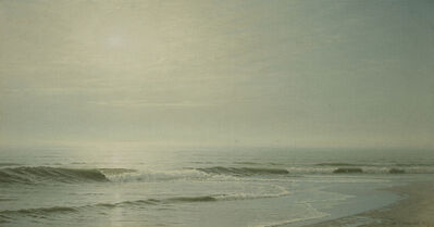 William Trost Richards, 'Seascape near Atlantic City', 1871