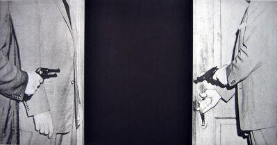 John Baldessari, 'Hegel's Cellar: Cagney', 1986