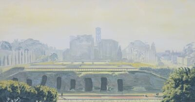 David Wheeler, 'Study: Etheral Landscape II (Rome)', ca. 2014