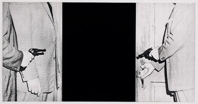 "John Baldessari, 'Large Door from ""Hegel's Cellar"" Portfolio', 1986"
