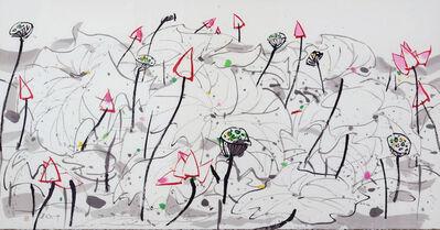 Wu Guanzhong, 'Lotus', 2013-2018