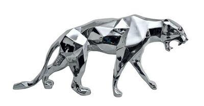 Richard Orlinski, 'Aluminium Panther'