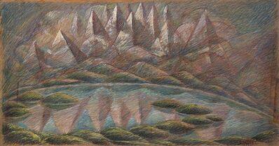 Gerardo Dottori, 'Laghi e monti', 1937