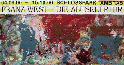 Franz West, 'Ohne Titel (Plakatentwurf Ambras)', 2000