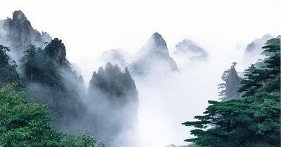 Jiaxuan Zhang, 'Huangshan: Flower Blooming on a Magic Brush Tip', 2001