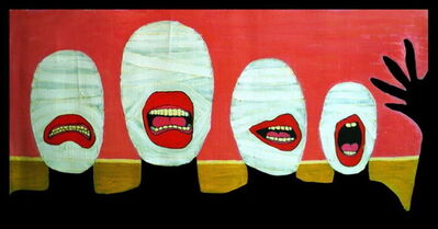 Kawamura Gun, 'We are Shy Nudists', 2010