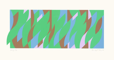 Bridget Riley, 'Leap', 208