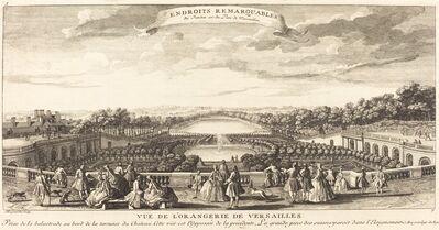 Jean-Baptiste Rigaud, 'Vue de l'Orangerie de Versailles'