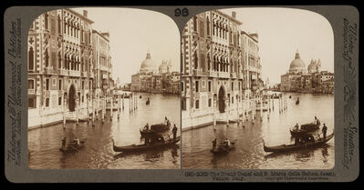 Bert Underwood, 'The Grand Canal and Santa Maria della Salute', 1900
