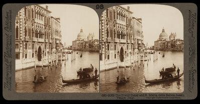 Bert Underwood, 'The Grand Canal and Santa Maria della Salute', 1900