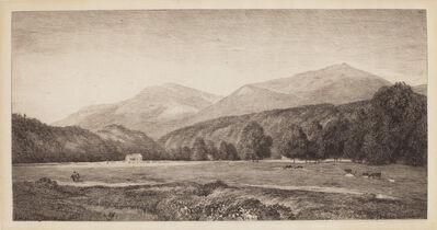 John Henry Hill, 'White Mountains', 1874