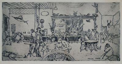 Clifford Isaac Addams, 'Panama Bar, New York', 1935