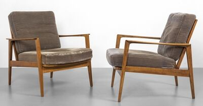 Florence Knoll, 'TWO ARMCHAIRS 50s.'