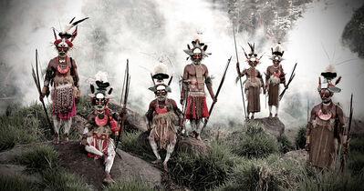 Jimmy Nelson, 'XV 78 Keke Kombea, Tande Mala, Lebosi Kupu, Mumburi Mupi, John Kundi, Menaja Koke, Likekaipia Tribe Ponowi Village, Jalibu Mountains, Western highlands Papua New Guinea - Goroka, Papua New Guinea', 2010
