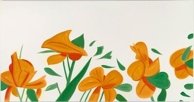 Alex Katz, 'Flowers', 2011