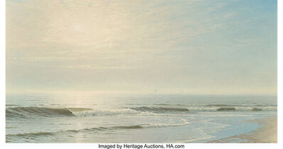 William Trost Richards, 'Seascape near Atlantic City', 1871
