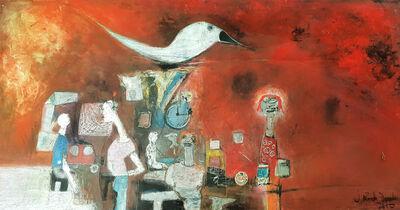 "Joel Mpah Dooh, '""A Journey to Djebale Island"" ', 2010"