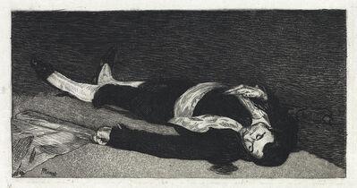 Édouard Manet, 'Le Torero Mort', 1867-68
